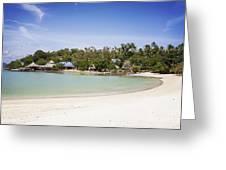 Koh Talu Beach Greeting Card