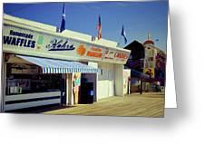 Kohrs Ice Cream Seaside Park Greeting Card