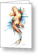 Koi Fish I Greeting Card