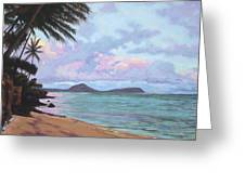 Koko Palms Greeting Card