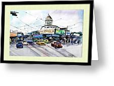 Kolkata Street Greeting Card