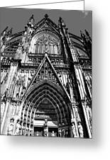 Koln - Dom Greeting Card