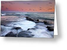 Koloa Sunset Greeting Card by Mike  Dawson
