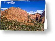 Kolob Canyon Vista Greeting Card