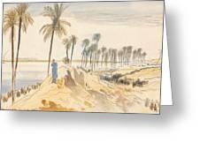 Kom El Amhr, 1 Pm, 4 January 1867 Greeting Card