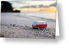 Kombi Beach Greeting Card
