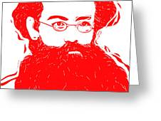 Komrade K Greeting Card