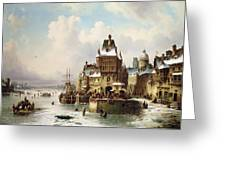 Konigsberg Greeting Card by Ludwig Hermann
