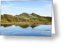 Konigsleiten Mountain Top. Tyrol, Austria Greeting Card