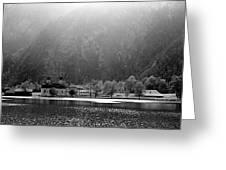 Konigssee Lake And Saint Bartoloma Greeting Card