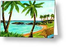 Koolina Lagoon Oahu, Hawaii #343 Greeting Card