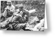 Korean War, 1950 Greeting Card