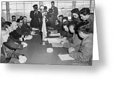 Korean War, 1953 Greeting Card