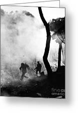 Korean War: Combat, 1951 Greeting Card