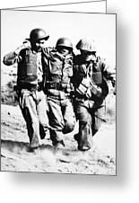 Korean War Pork Chop Hill Greeting Card