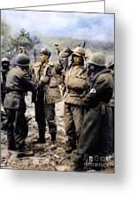 Korean War: Prisoners Greeting Card