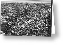 Korean War: Shell Casings Greeting Card