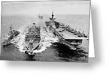 Korean War: Ship Refueling Greeting Card