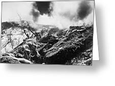 Korean War: Trenches, 1952 Greeting Card