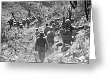 Korean War: Triangle Hill Greeting Card