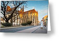 kosice 'VI Greeting Card