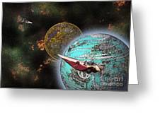 10114 Starfighters Greeting Card