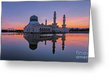 Kota Kinabalu City Mosque I Greeting Card