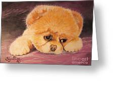 Flying Lamb Productions     Koty The Puppy Greeting Card
