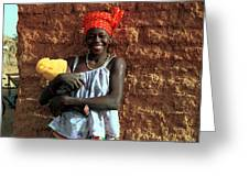 Koundou Gina 1986 Greeting Card