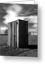 Koyl Cemetery Outhouse Greeting Card