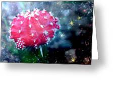Kozmic Cactus Greeting Card