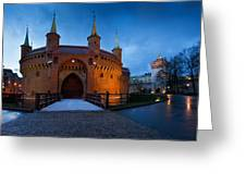 krakow 'IX Greeting Card