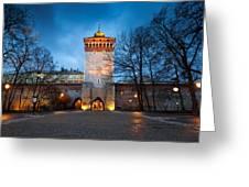 krakow 'X Greeting Card