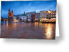 krakow 'XII Greeting Card