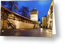 krakow 'XIV Greeting Card