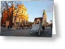 krakow 'XIX Greeting Card