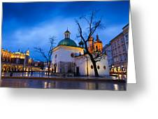 krakow 'XVI Greeting Card