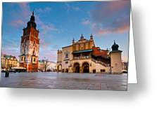 krakow 'XVIII Greeting Card