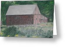 Krashes Barn Greeting Card