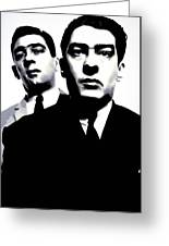Kray Twins Greeting Card
