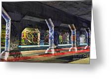 Krog Street Tunnel Greeting Card