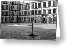 Kronborg Castle Courtyard Greeting Card