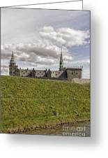 Kronborg Castle Moat Mound Greeting Card