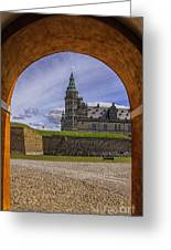Kronborg Castle Through The Archway Greeting Card