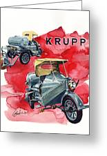 Krupp Street Sweeper Greeting Card