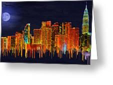 Kuala Lumpur Greeting Card