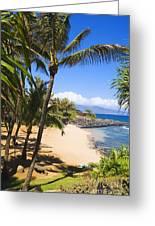 Kuau Cove Greeting Card