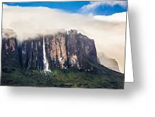Kukenan Waterfall Greeting Card