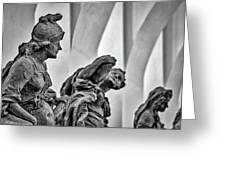 Kuks Statues - Czechia Greeting Card