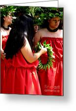 Kukui Dancers Greeting Card